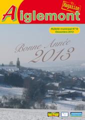 Aiglemont magazine #12 décembre 2012