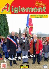 Aiglemont magazine #16 Janvier 2017