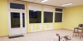 Les travaux à l'école maternelle d'Aiglemont