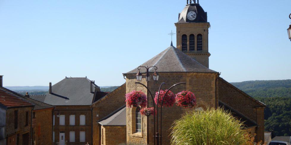 L'église d'Aiglemont